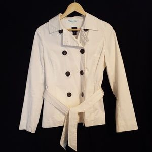 GAP trench coat with belt (med)